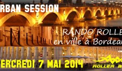 Urban session – Rando roller à Bordeaux