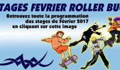 Stages roller vacances d'hiver
